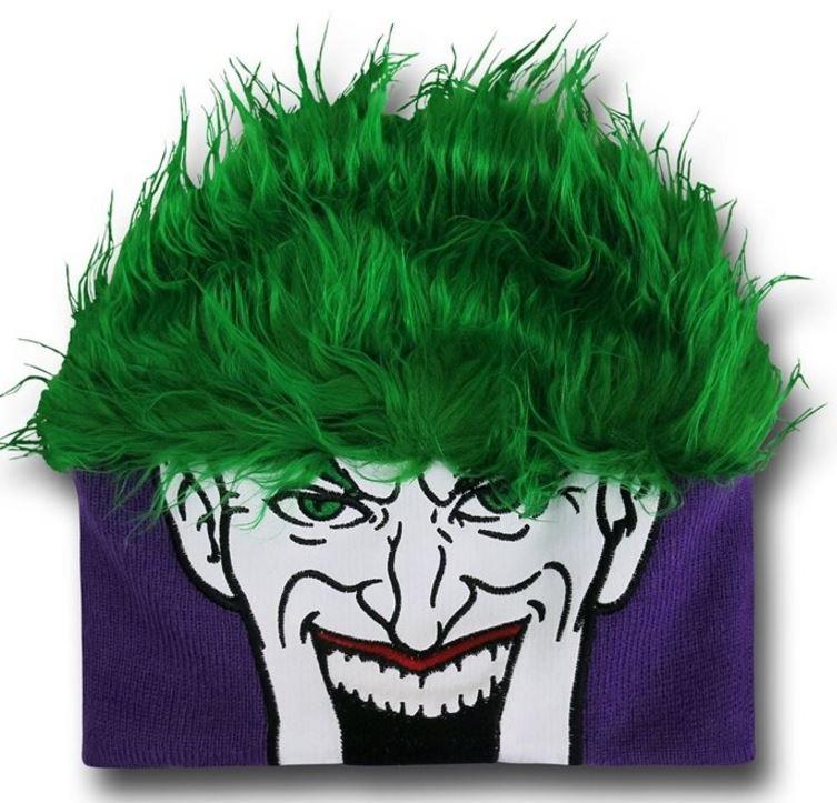 It's the Joker Hair Beanie!