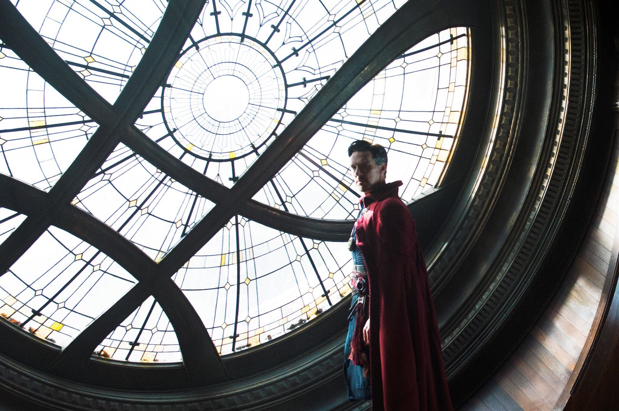 Doctor Strange Guards Window of Worlds in New Image