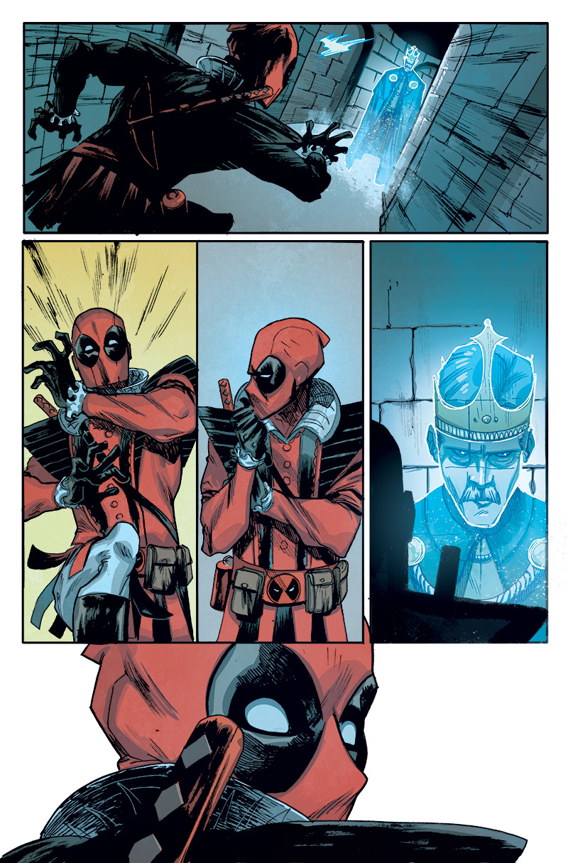 Your First Look at DEADPOOL #21: Deadpool Does Shakespeare!