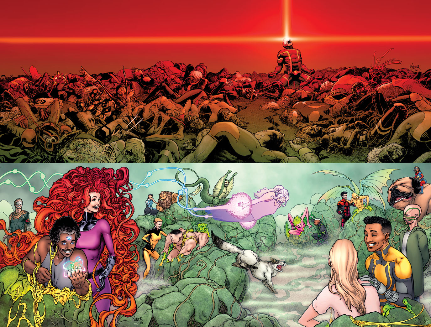 DEATH OF X #1 Prepares Mutants & Inhumans For War!