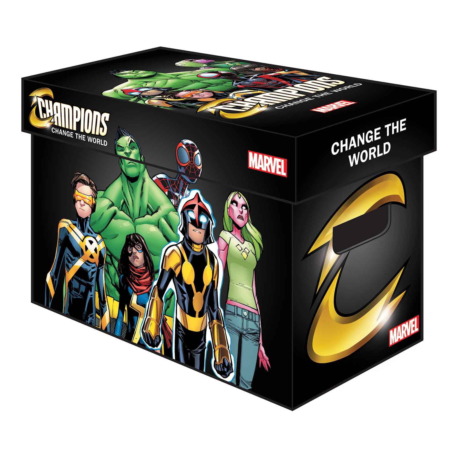 Protect Your Collection With New MARVEL GRAPHIC COMIC BOXES!