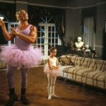 Yes, that is Hulk Hogan, and yes, he is wearing a tutu.