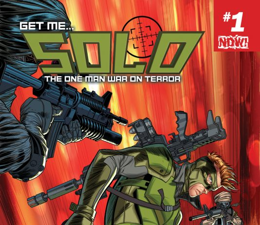 Get Ready for Solo #1, Featuring the One Man War on Terror!