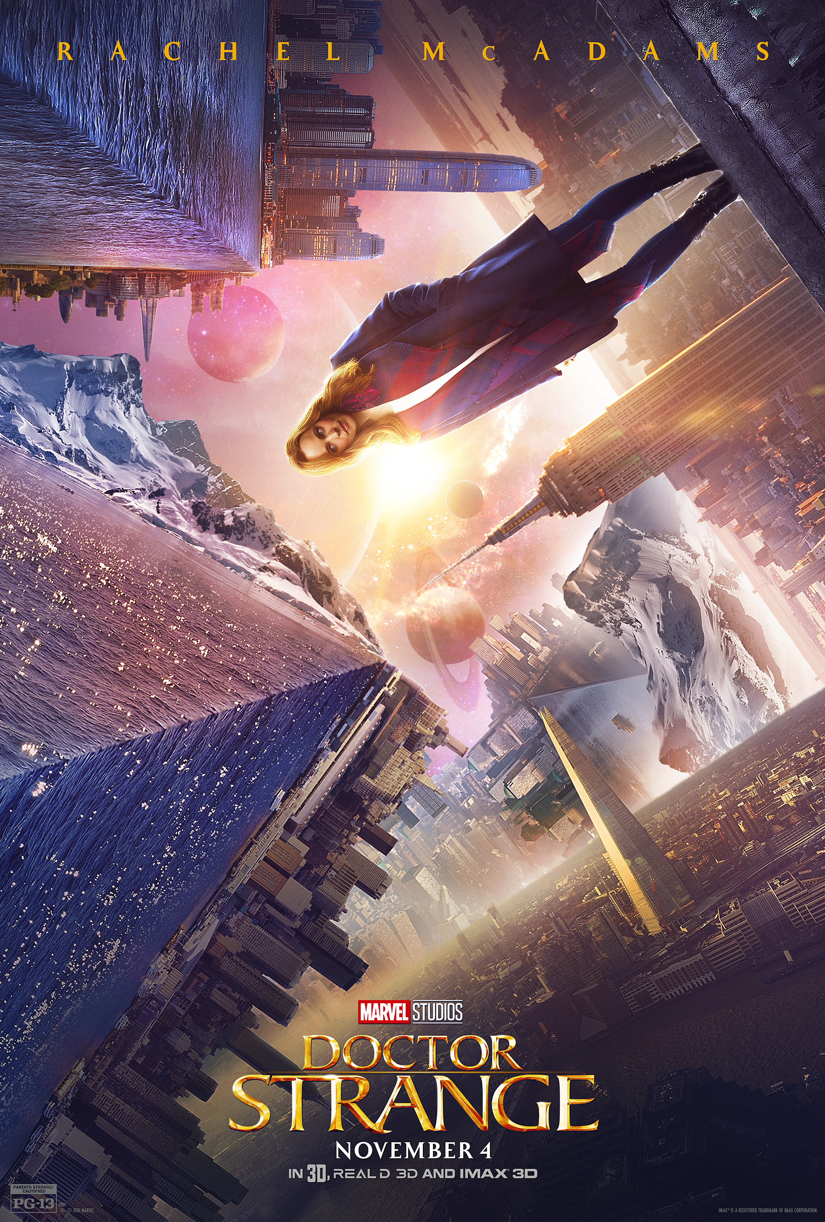 Brand New Doctor Strange Character Posters and Stills Reveal an Impossible World!