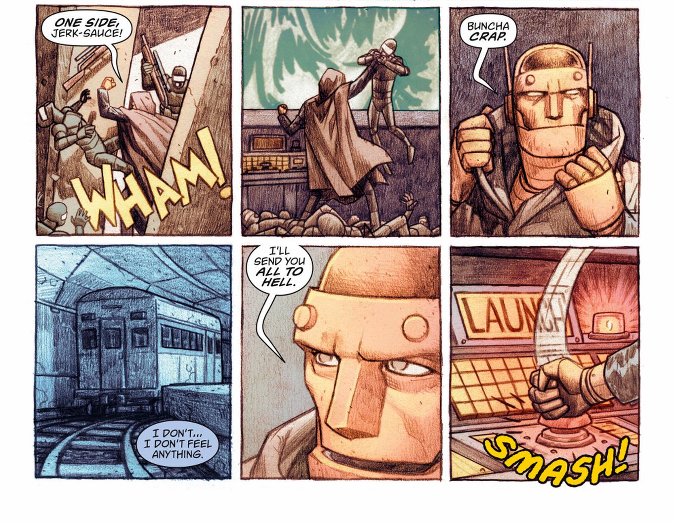 Doom Patrol #1 Review: Partake of the Cosmic Gyro
