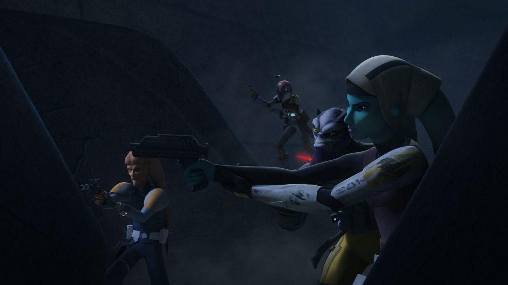 "Star Wars Rebels Season 3 Episode 5 Review: ""Hera's Heroes"""