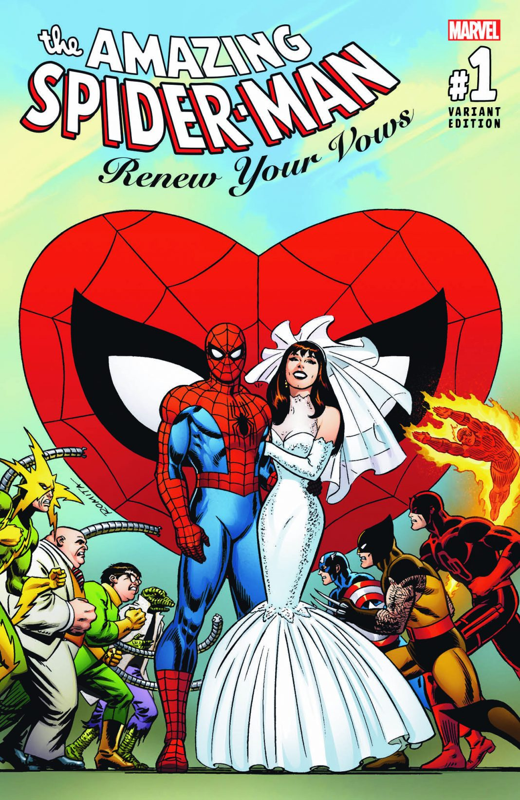 AMAZING SPIDER-MAN: RENEW YOUR VOWS #1 Top Secret Artist Variant Revealed!