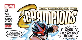 CHAMPIONS #2 Adds a New Member to the Mix – Your First Look!