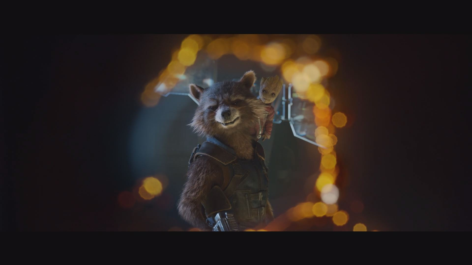 Star Lord looking to the great beyond