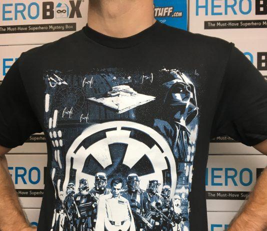 Product Spotlight: Star Wars Rogue One Looming Empire Men's T-Shirt