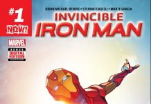 Riri Williams Soars in Your First Look at INVINCIBLE IRON MAN #1!
