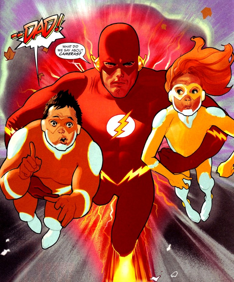 Why Wally West Is the Superior Flash, and Barry Allen Is Kind of a Dope