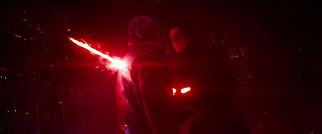 Lets Talk About When Kylo Ren Killed Han Solo