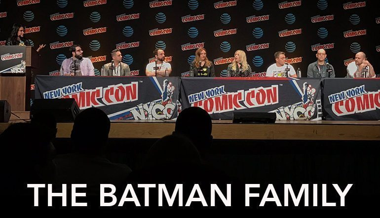 NYCC 2016: Batman Family Panel Reveals New Bat-Title