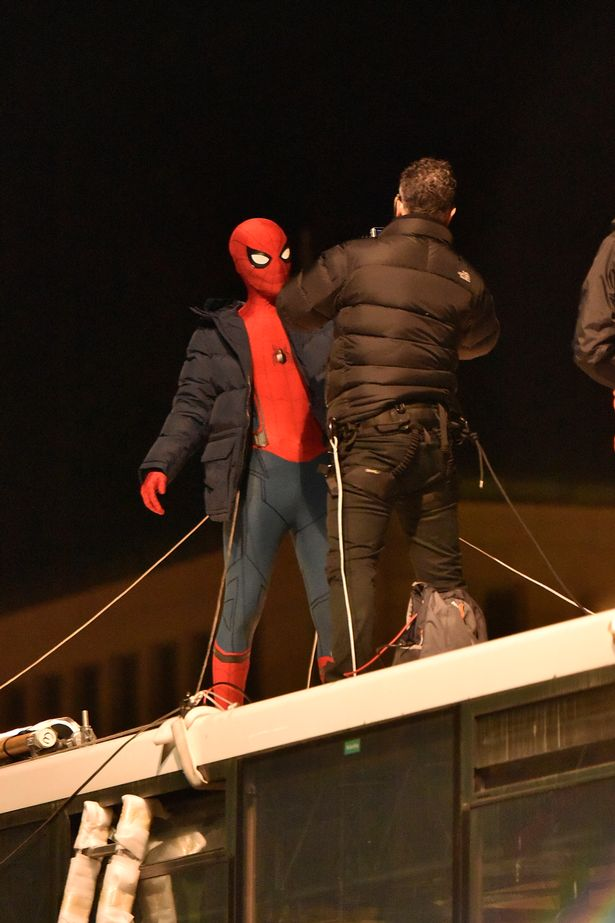 Tom Holland's Spider-Man Takes the Bus in New Spider-Man: Homecoming Images