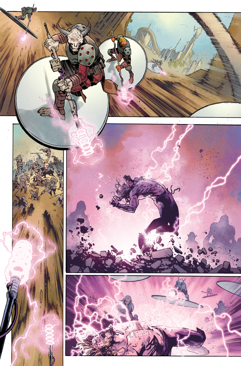 First Look at THE UNWORTHY THOR #1!