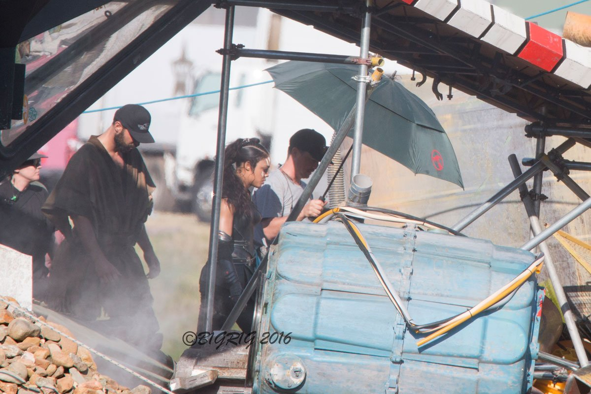 First Look at Tessa Thompson as Valkyrie on the Set of Thor: Ragnarok