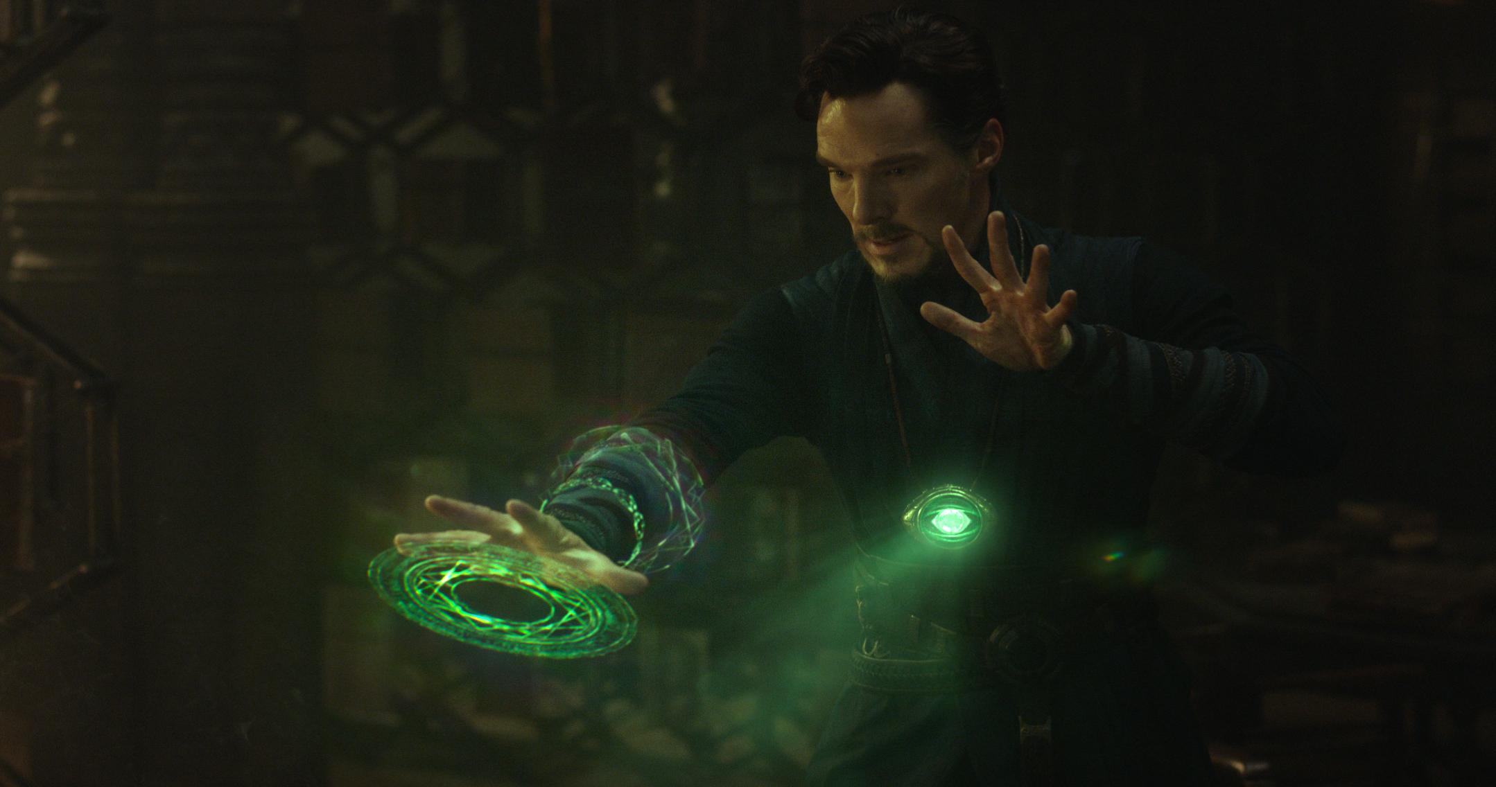 Doctor Strange doing his thing