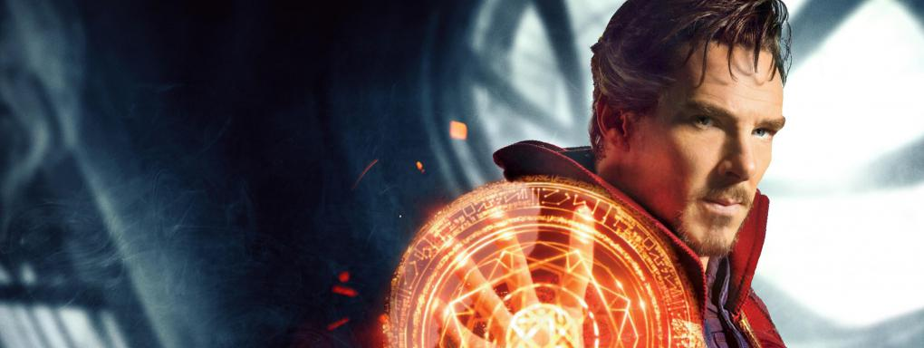 Doctor Strange doing his thing