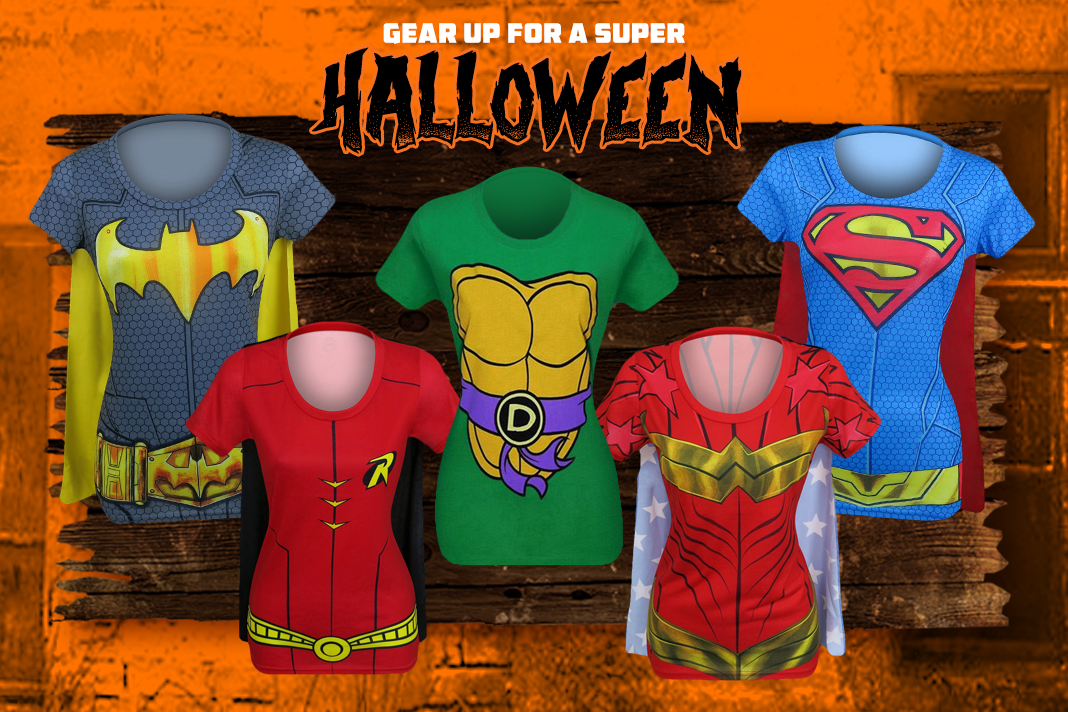 Top 10 Superhero Costume T-Shirts for Women