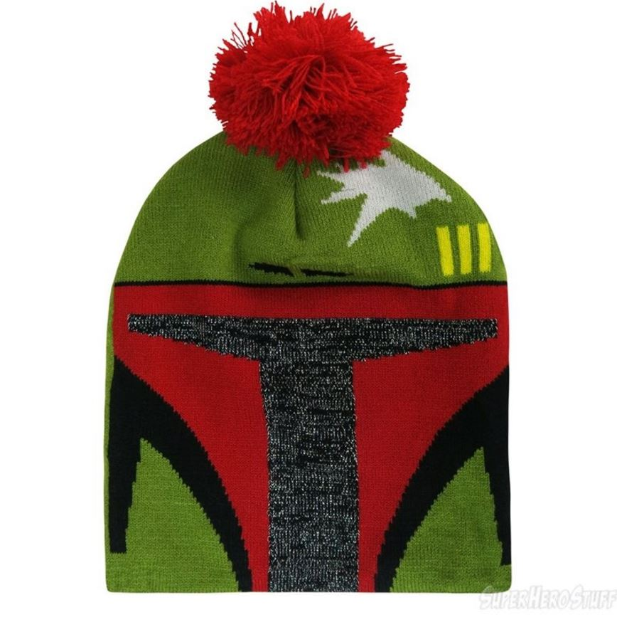 Star Wars Boba Fett Glitter Slouchy Beanie