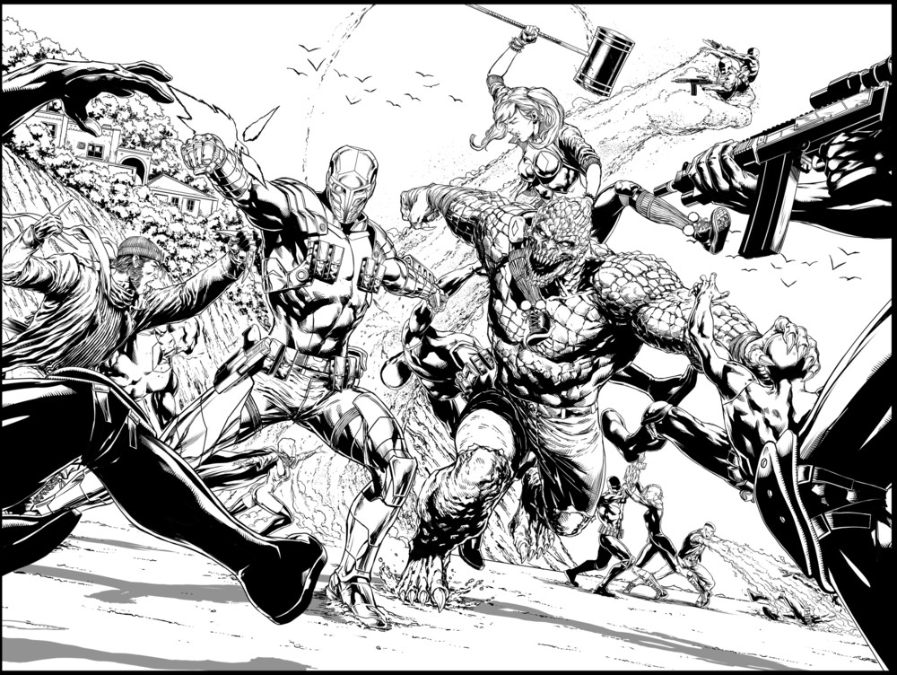 Justice League vs. Suicide Squad Update: Artist Line-Up Announced, Plus Preview Pages!