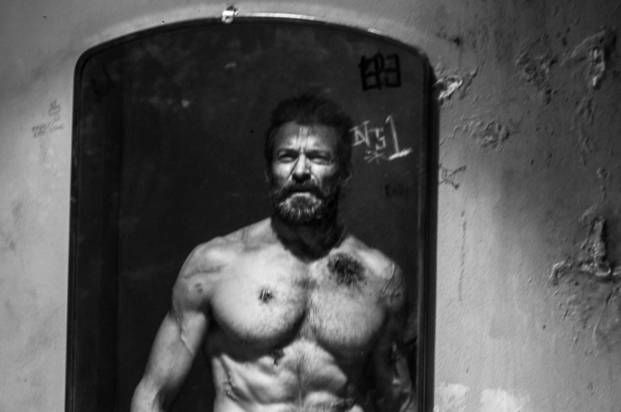 LOGAN Director Shares Another Image a of Scarred and Broken Wolverine