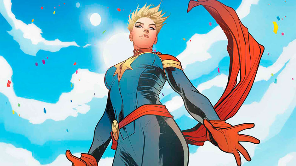 Kevin Feige Says Captain Marvel's Power Levels Are