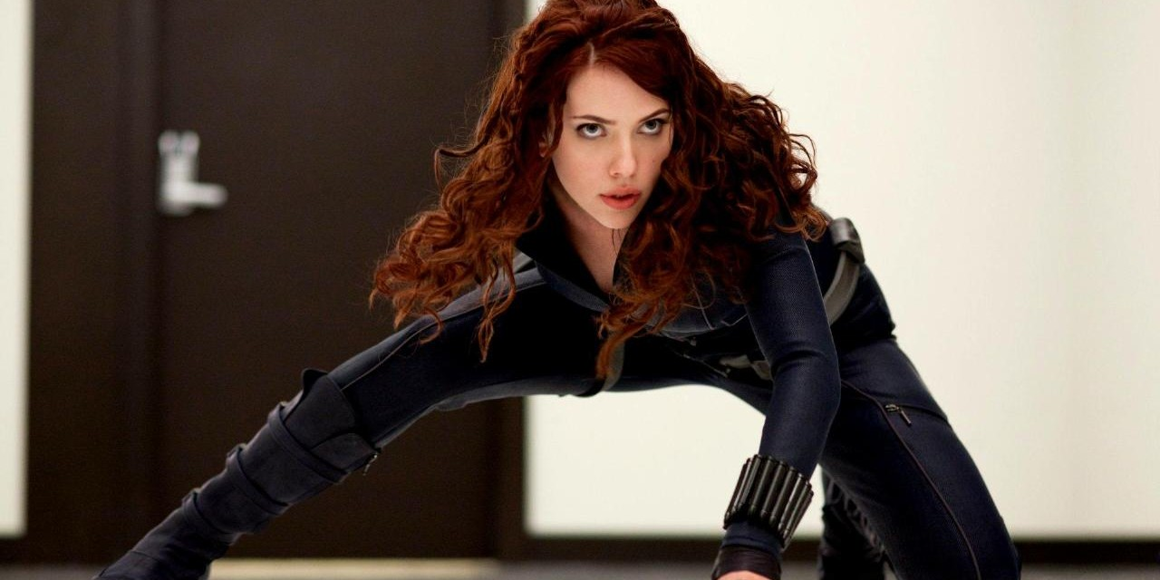 Black Widow doing her thing
