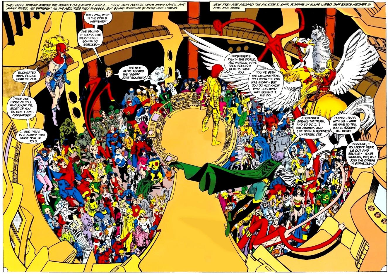 Five Reasons Why Crisis on Infinite Earths Is Better Than Infinity Gauntlet