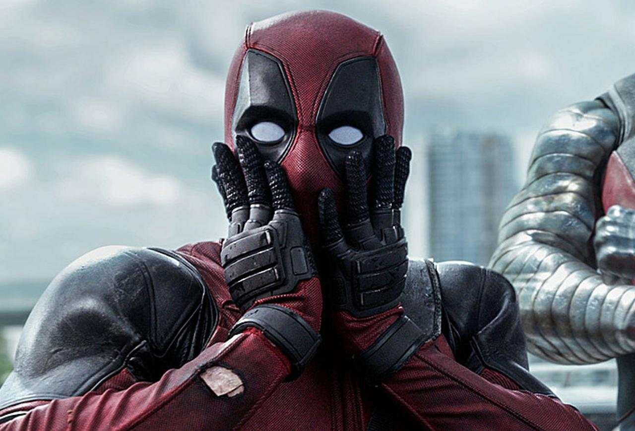 Deadpool shocked!
