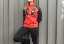 Product Spotlight: It's the Deadpool Side Zip Moto Women's Jacket!