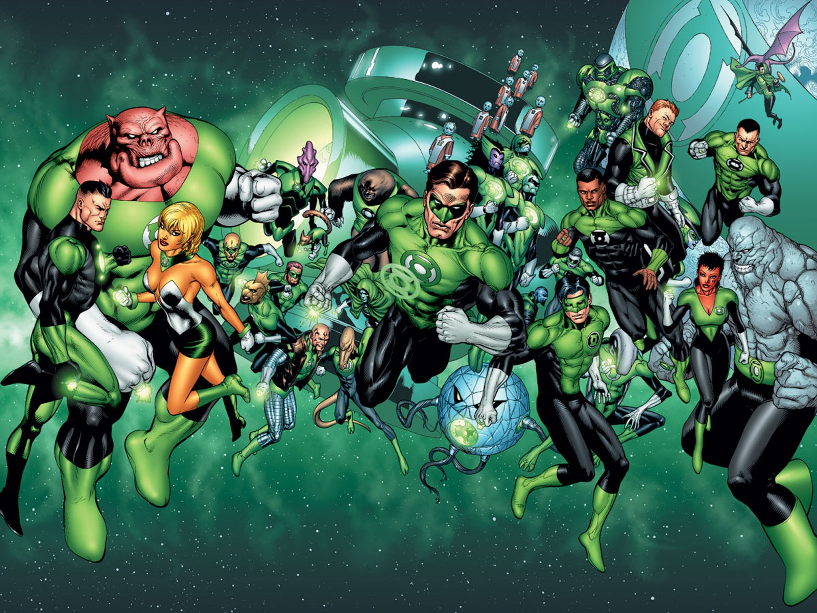 A Member of the Green Lantern Corps Might Show Up in JUSTICE LEAGUE