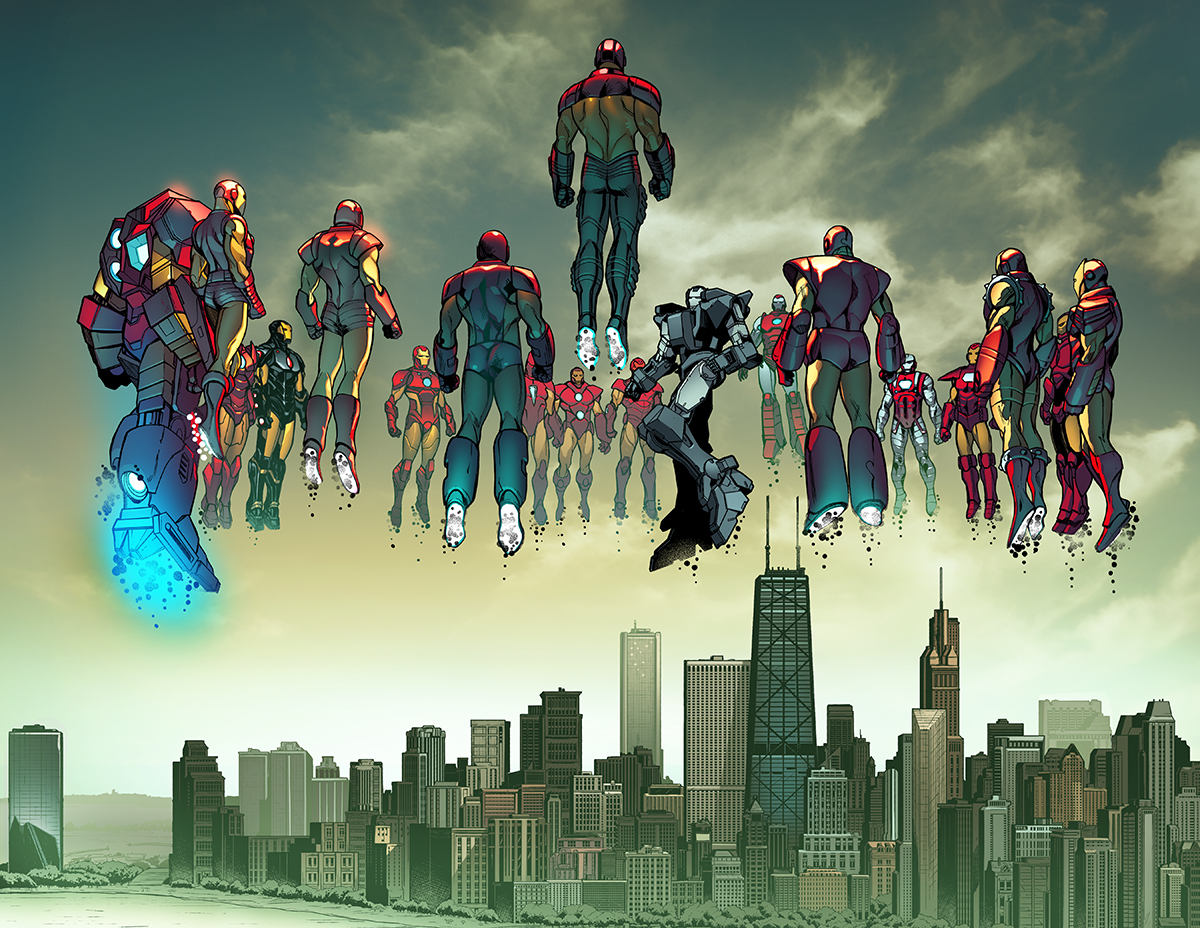 First Look: INVINCIBLE IRON MAN #2 Takes Riri Williams to the Next Level
