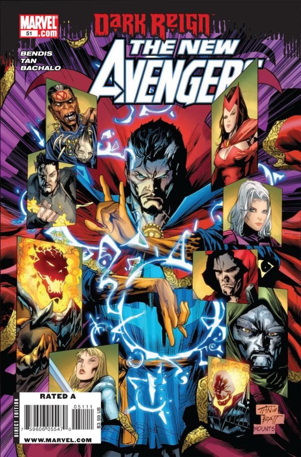 Doctor Strange's Time in New Avengers