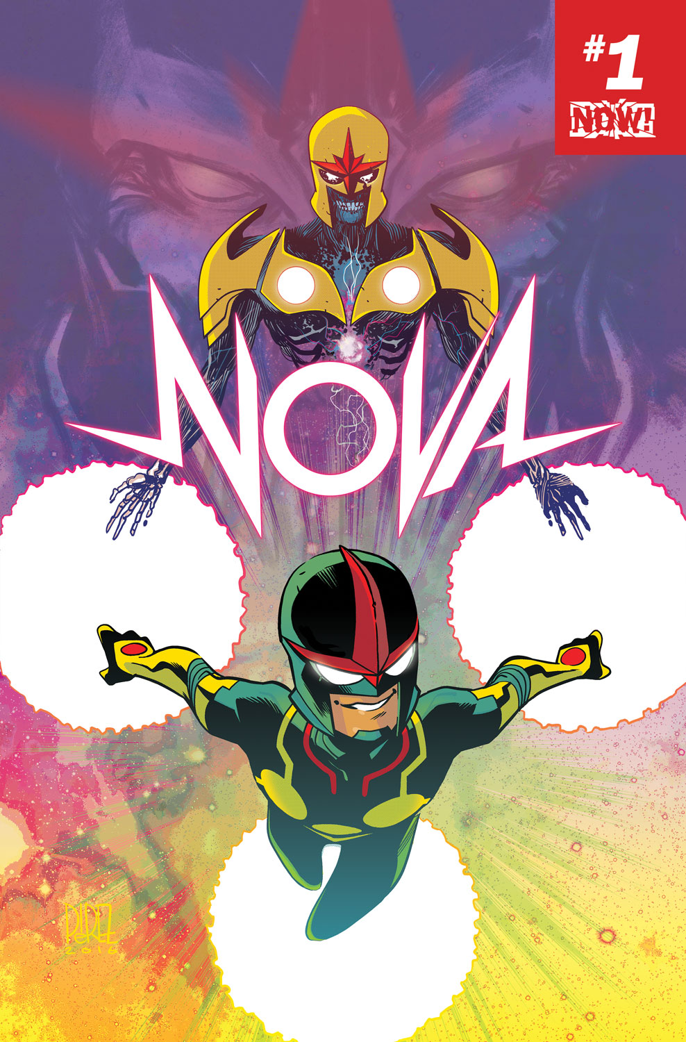 NOVA #1 Brings You the Return of a Long Lost Hero!