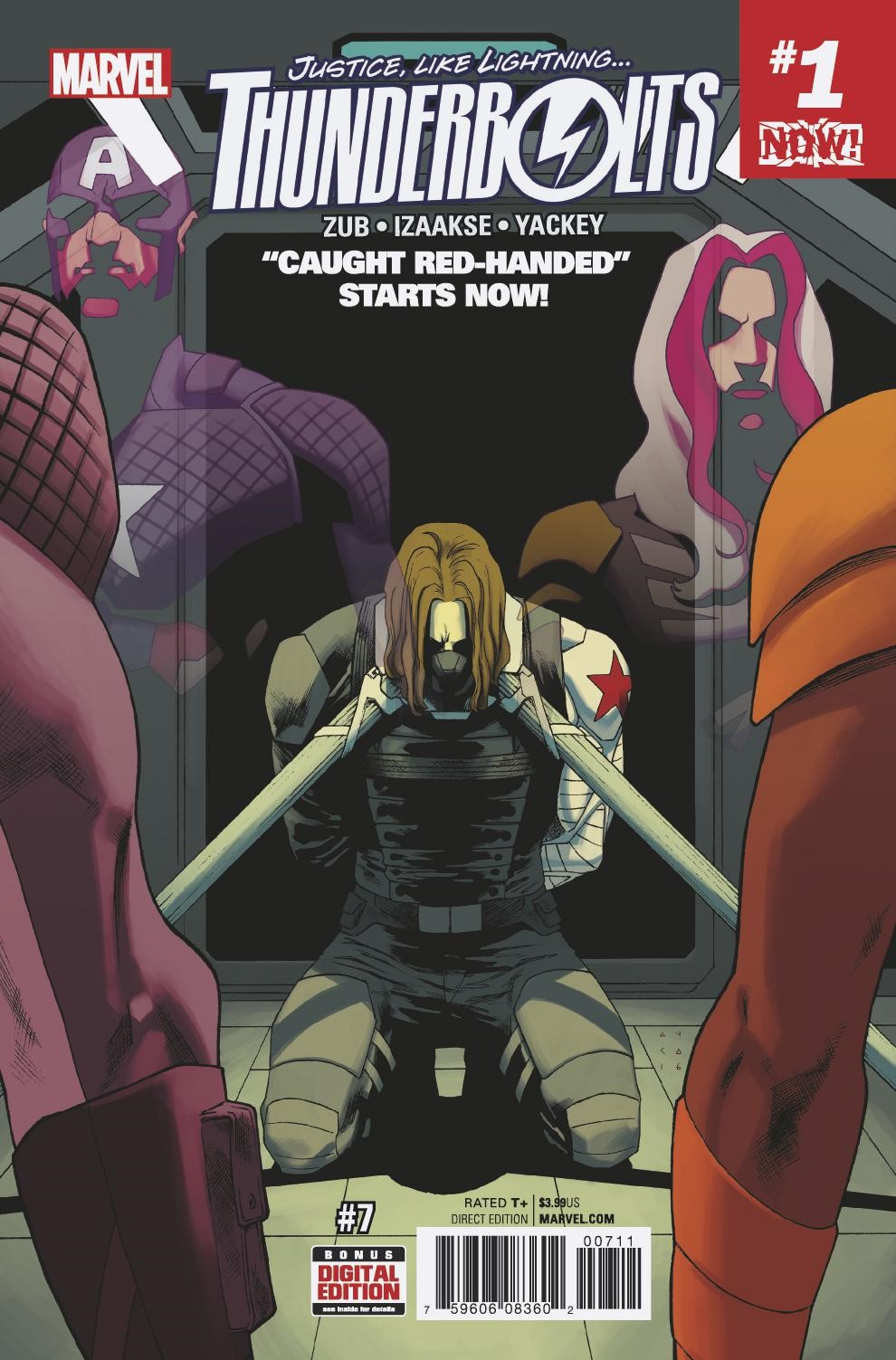 """Caught Red-Handed"""" Starts NOW! Your First Look at THUNDERBOLTS #7!"""