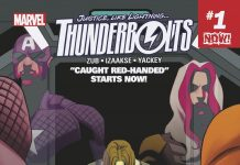 "Caught Red-Handed"" Starts NOW! Your First Look at THUNDERBOLTS #7!"