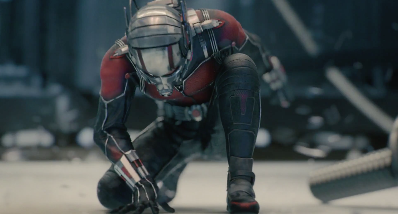Ant-Man with an army of ants
