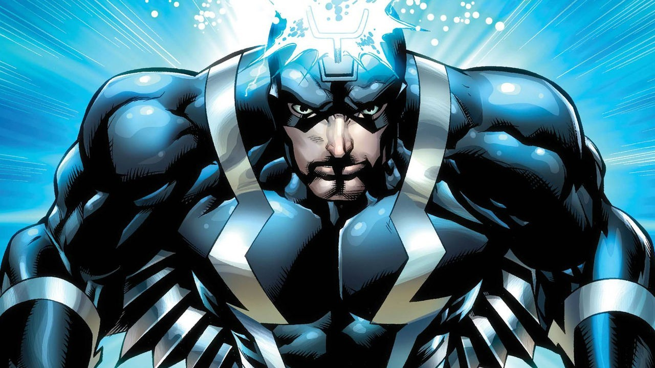 Black Bolt looking boss