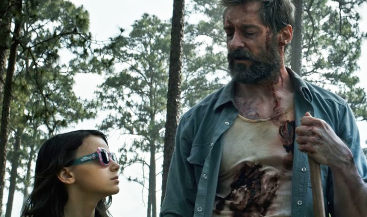 Wolverine Rescues X-23 in First, Full-Color Image from LOGAN
