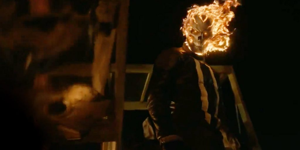 Ghost Rider Stands Tall