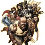 leinil-francis-yu-new-avengers-no-37-cover-luke-cage-wolverine-spider-man-dr-strange-iron-fist-ronin-and-echo