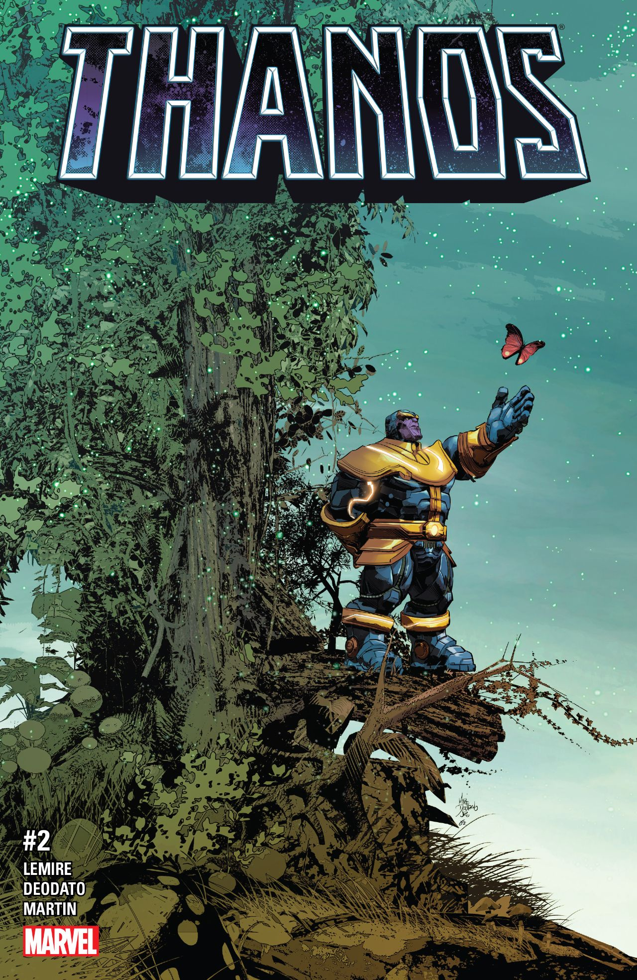 Thanos #2 Review: The Cosmic Grandeur of Jim Starlin Revisited!