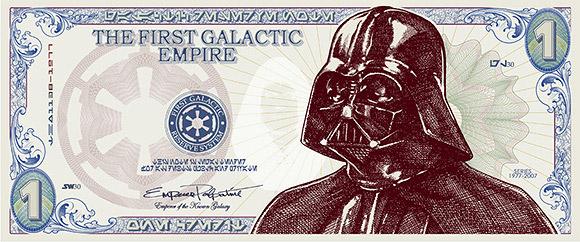 The Almighty Darth Dollar!