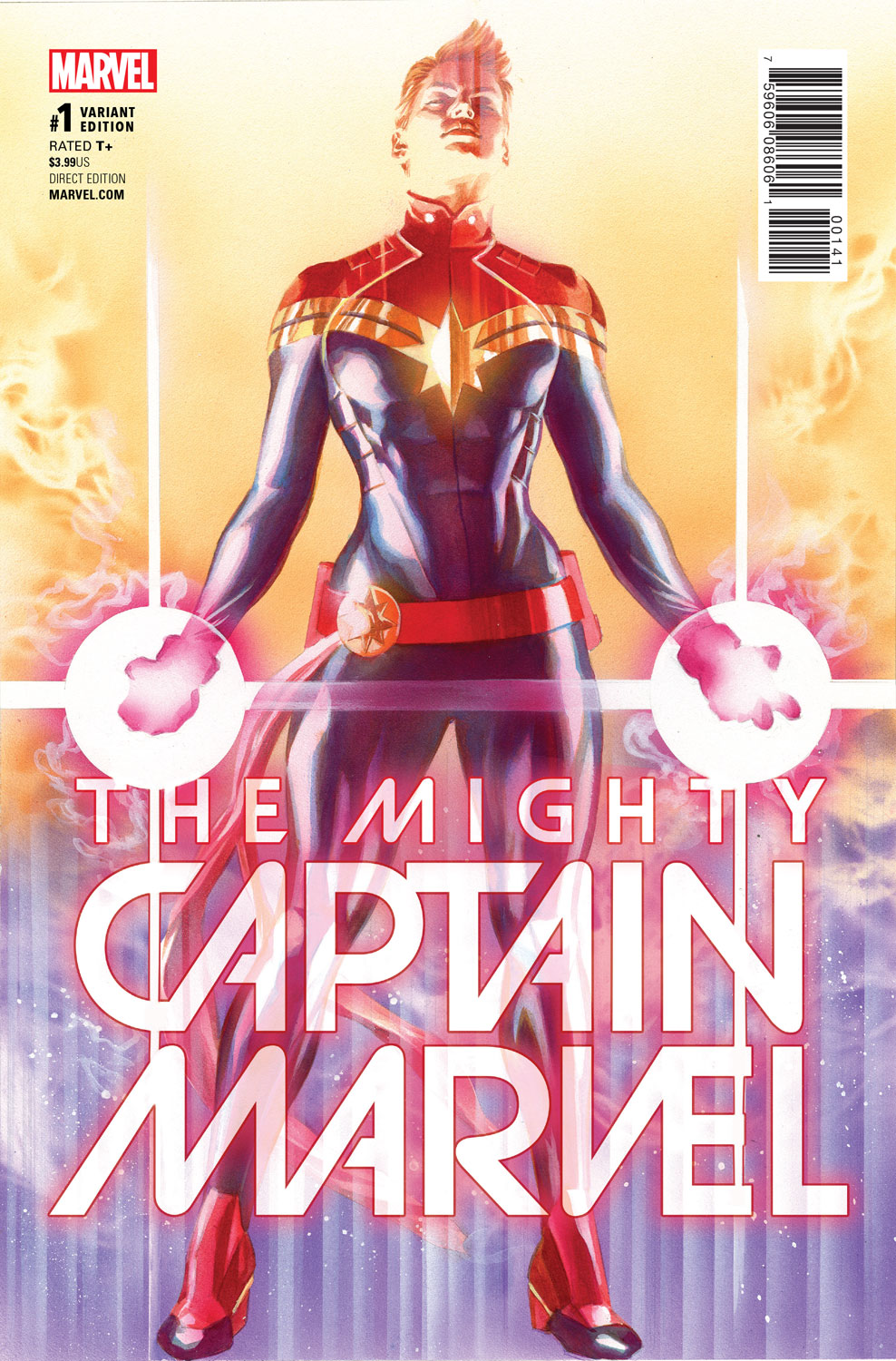 The Mighty Captain Marvel #1 Review
