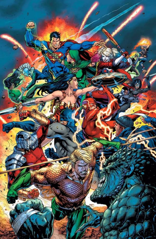Justice League vs. Suicide Squad #1 Review