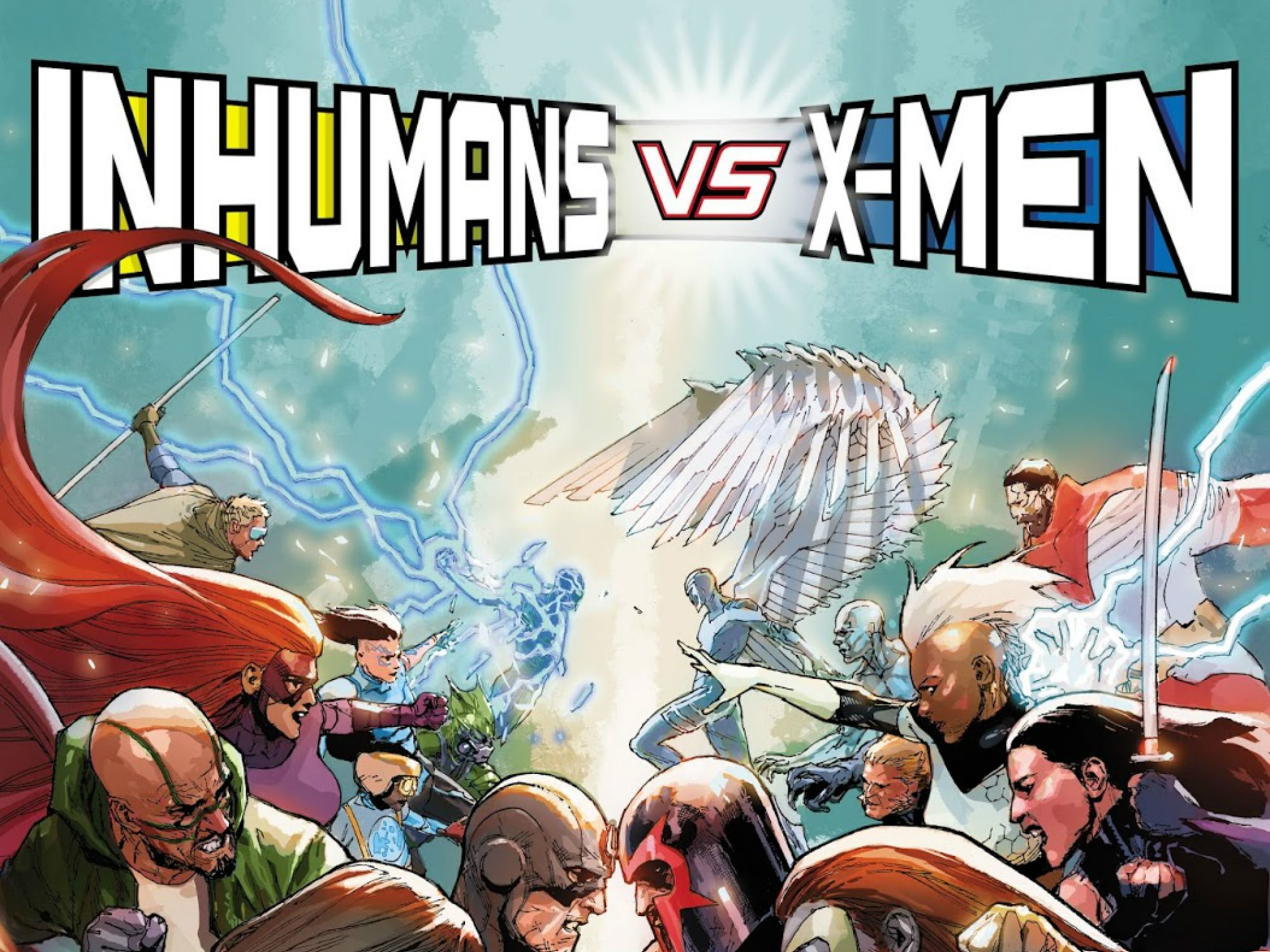Inhumans vs. X-Men #1 Review: