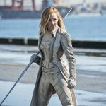 Caity Lots as the White Canary