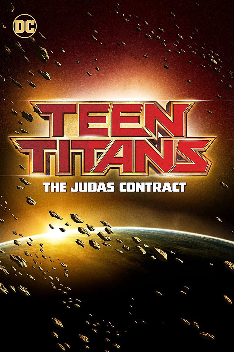 Check out the First Poster for 'Teen Titans: The Judas Contract' Animated Feature